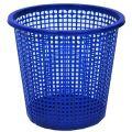 Урна для мусора сетчатая синяя Эталон