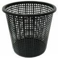 Урна для мусора сетчатая черная Эталон