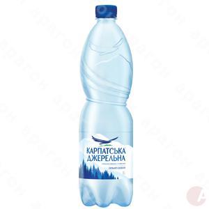 Минеральная вода Карпатська джерельна б/газ 1л