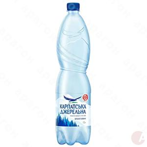 Минеральная вода Карпатська джерельна газ 1,5л