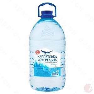 Минеральная вода Карпатська джерельна б/газ 6л