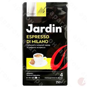 Кофе Jardin Espresso di Milano 250г молотый пакет