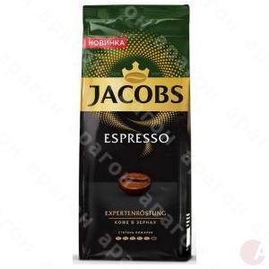 Кофе Якобс Еспрессо 230гр в зернах
