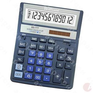 Калькулятор Brilliant BS-777BL синий