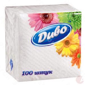 Салфетка Диво 100шт 24*24 бел
