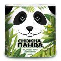 Туал бумага Снежна панда 4шт Бамбук