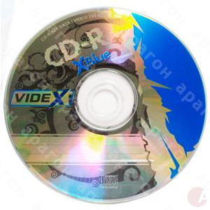 Диск CD-R Videx 700Mb/80min  Bulk Box