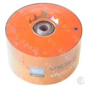 Диск DVD-R Videx 4.7Gb  Bulk Box