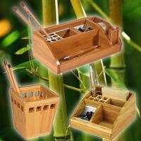 Бамбуковые эконаборы ТМ Cabinet – уголок природы в офисе