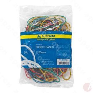 Резинки для денег 50г цветные BM5501