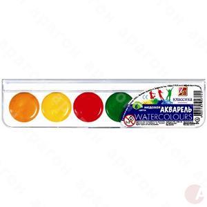 Краски акварель медовая Классика 6цв 1282-08 Луч