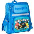 Ранец школьный 14,5  Angry Birds 03824 голубой