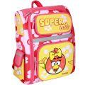 Ранец школьный 14,5  Angry Birds 03825 роз/желт.