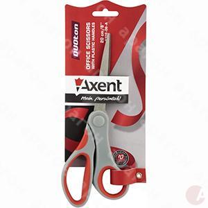 Ножницы 20см Duoton прорезин ручки Аxent 6302