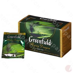 Чай  Гринфилд 25пак зеленый Флаiнг Драгон