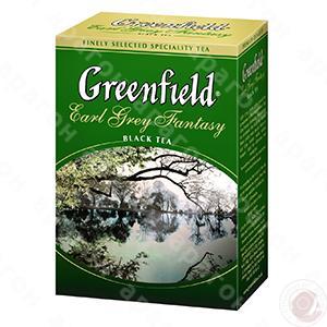 Чай  Гринфилд 100 ГРАММ черный крупн. лист  бергамот