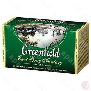 Чай  Гринфилд 25пак черный с бергам Ерл Грей Фентазi