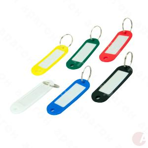 Брелок пластик д/ключей ассорти